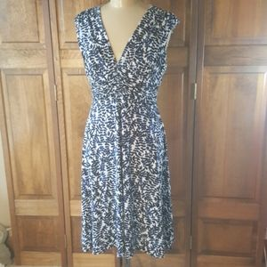 Joneswear Sleeveless Floral Print Dress, Sz 12